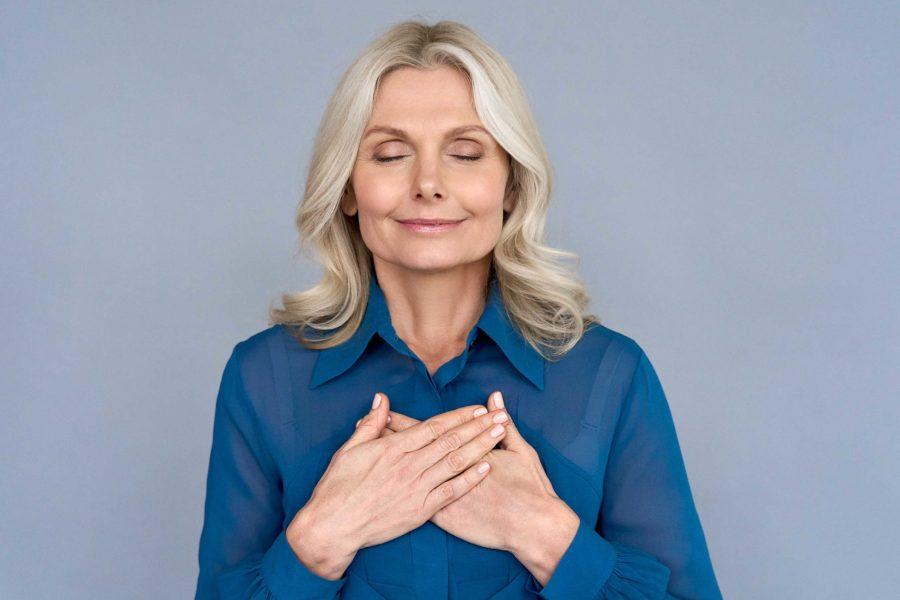 eiostherapie existensangst ältere Dame Frau